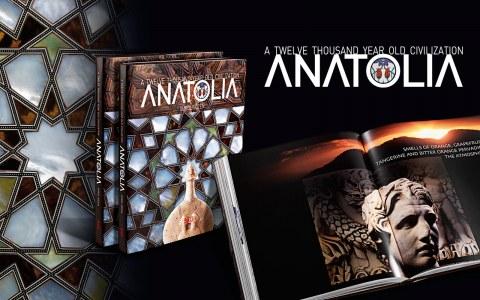 "A Twelve Thousand Year Old Civilization ""Anatolia"" kitabını satın al, Anadolu Kitabı, ISBN: 605-5495-16-9"